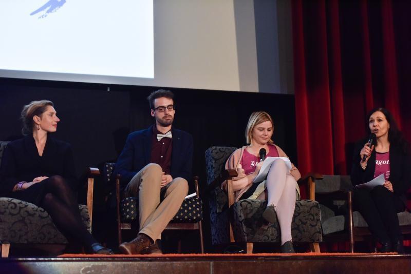 10.12.2016., Zagreb - Povodom Medjunarodnog dana ljudskih prava Centar za mirovne studije organizirao je u kinu Europa predstavljanje Solidarne - zaklade za ljudska prava i solidarnost.  Photo: Davor Visnjic/PIXSELL